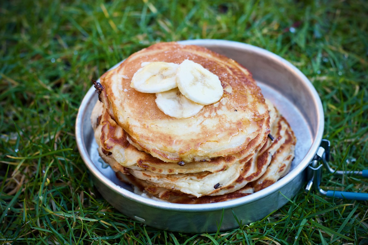 Simple Banana Pancakes