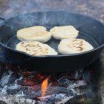 Campfire Bannock on Cast Iron